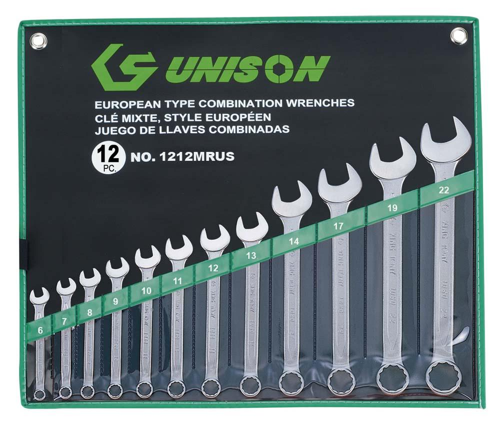 UNISON 12PC R&OE WRENCH SET 6-22mm