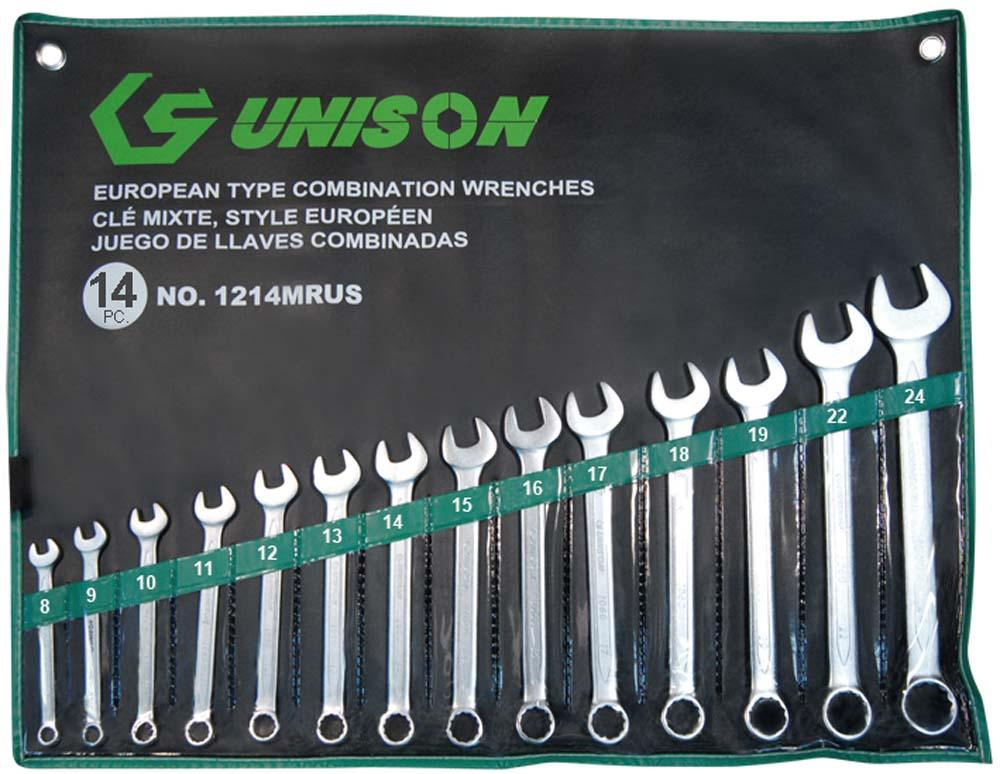 UNISON 14PC R&OE WRENCH SET 8-24mm