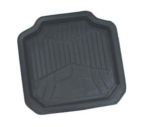 MAT RUBBER 4WD BLACK SMALL