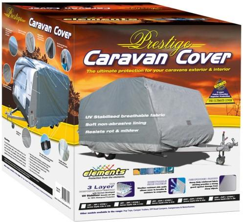 ELEMENTS CARAVAN COVER 4.3 TO 4.8M