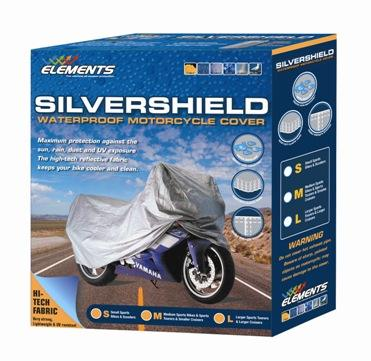 ELEMENTS MOTORCYCLE COVER TO 500CC