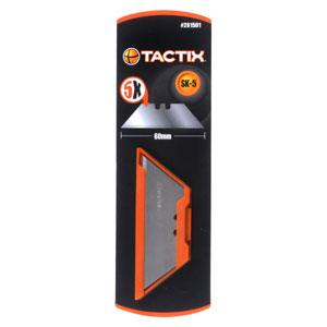 TACTIX   KNIFE BLADE UTILITY 5PC