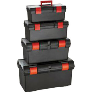 PLASTIC TOOLBOX 4 PACK
