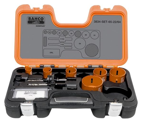 Bahco Holesaw Set 11pc 22 -64mm