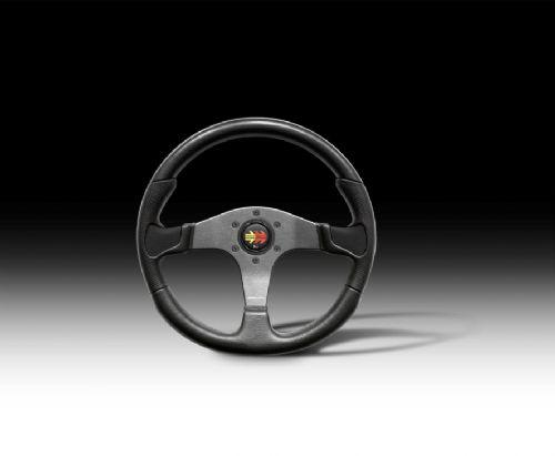 STEERING WHEEL DEVIL BLACK 350