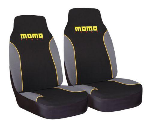 MOMO MOMO FRONT SEAT COVER YELLOW PAIR