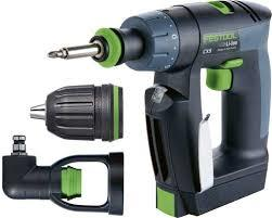Festool CXS plus in systainer
