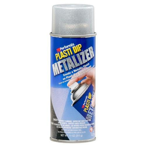 PLASTI DIP SPRAY ALUMINUM METALIZER PLASTI DIP CAN