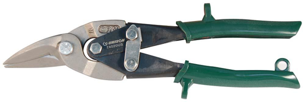 UNISON 10in AVIATION TIN SNIPS (RIGHT)