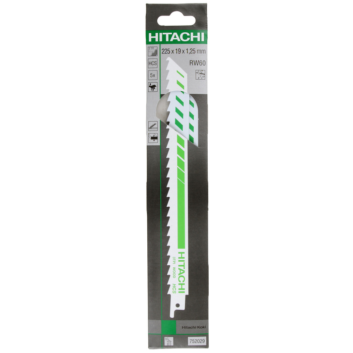 Hitachi Sabre Saw Blade (5 pcs)