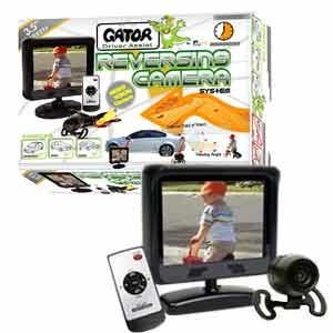 GATOR REVERSE CAMERA WIRED 3.5IN MONITOR