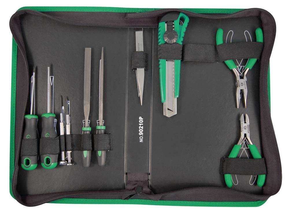 UNISON 10PC MULTI-FUNC TOOL KIT WALLET