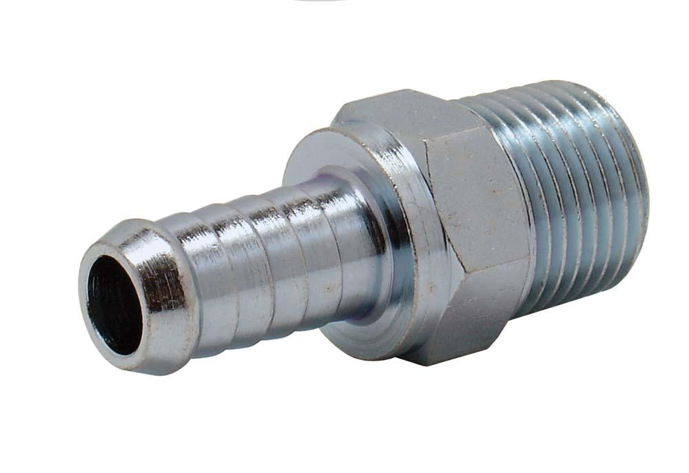 "ARO TAILPIECE 1/2"" BSP MALE x 13mm HOSE"