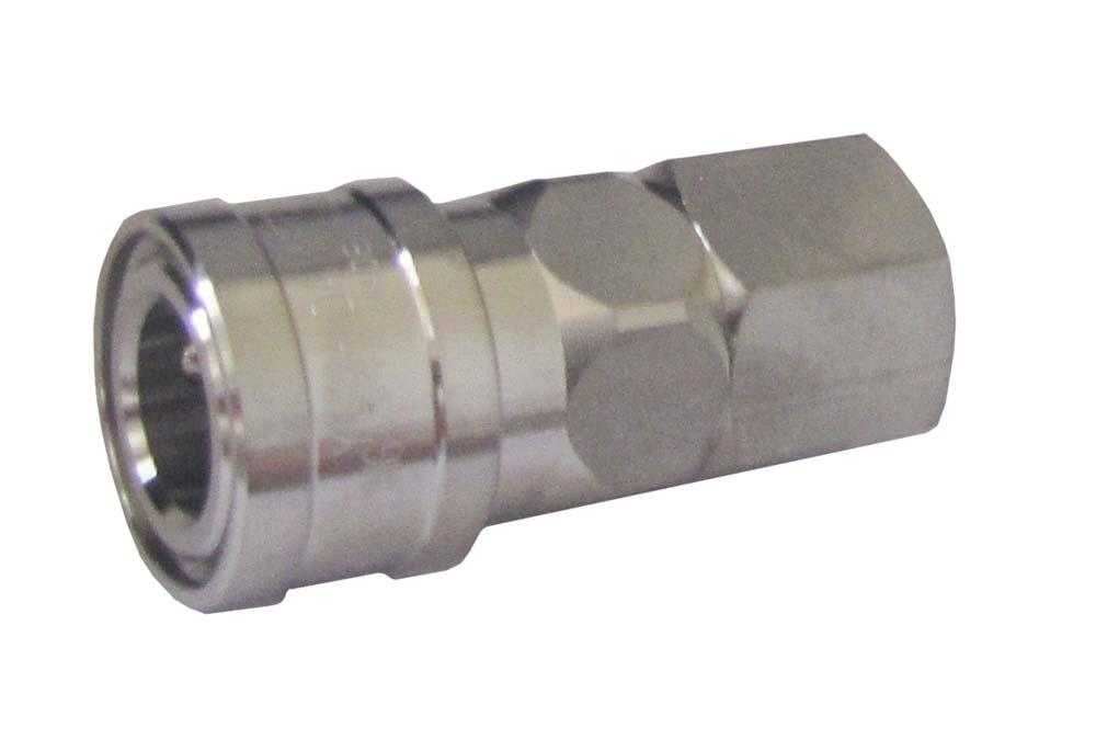 "ARO SPEED COUPLER 3/8"" BSP STAINLESS STEEL (380S)"