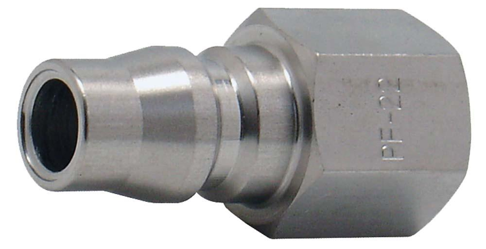 "ARO CONNECTOR 1/4"" BSP FEMALE STAINLESS STEEL"