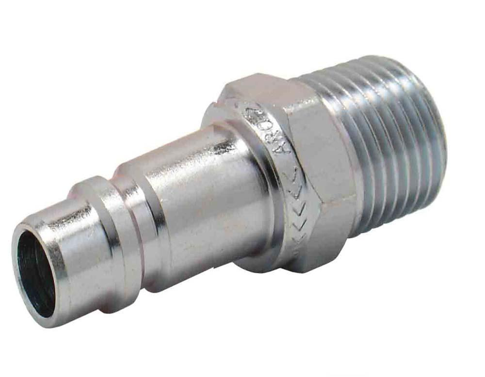 "ARO CONNECTOR 3/8"" BSP MALE STAINLESS STEEL 3808S"