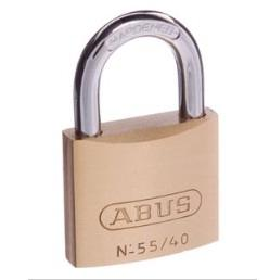 ABUS 55 SERIES 40MM / 6.5MM SHACKEL (KEYED ALIKE)