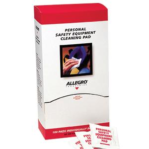 ALLEGRO RESPIRATOR CLEANING PADS 100 PACK