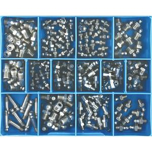 CHAMPION 170PC MMIMP. GREASE NIPPLE ASSORTMENT 316A4 STAINLESS