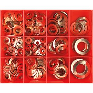 CHAMPION 260PC IMPERIAL 20G COPPER WASHER ASSORTMENT