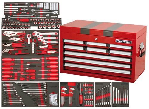 Powerbuilt Professional Tool Kit 248pc