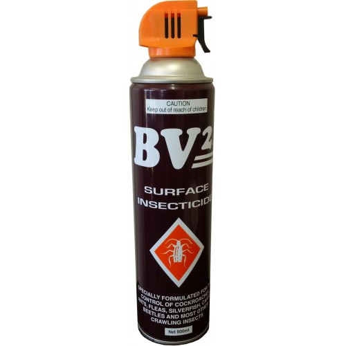 AEROSOLS BV2 Insecticide 600ml    Cockroaches etc