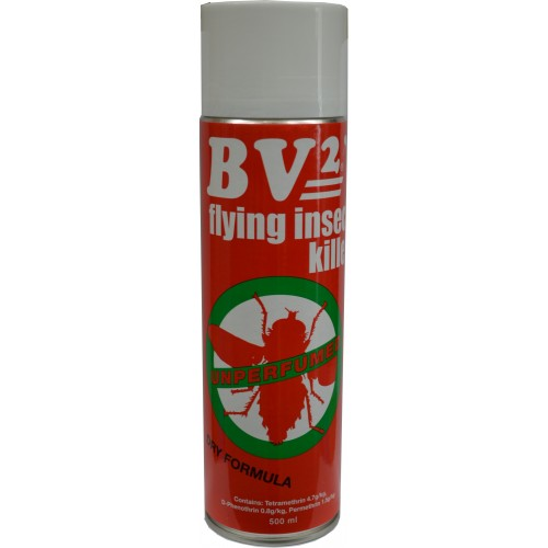 AEROSOLS BV2 Flying Insect Killer 350ml Spray    500ml