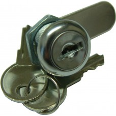 CAM LOCK 11mm XCEL Chrome Plated WITH BACKNUT