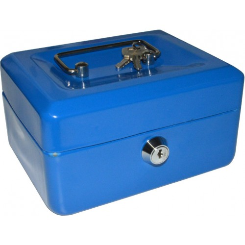 CASHBOX 150x120x80mm Locking WITH  Coin Tray   Coin Tray