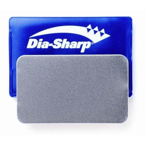 3in DIA-SHARP CREDIT CARD SIZED SHARPENER - COARSE    83 x 50mm