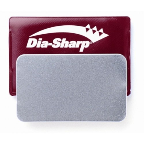3in DIA-SHARP CREDIT CARD SIZED SHARPENER - FINE