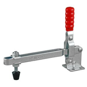 TOGGLE CLAMP VERTICAL FLANGED BASE STRAIGHT HANDLE 180KG CAP