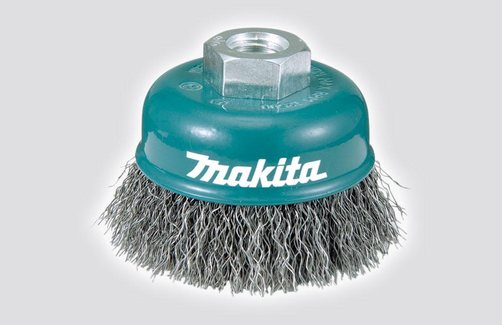 MAKITA WIRE CUP BRUSH 60 M10x1.5 D-55077