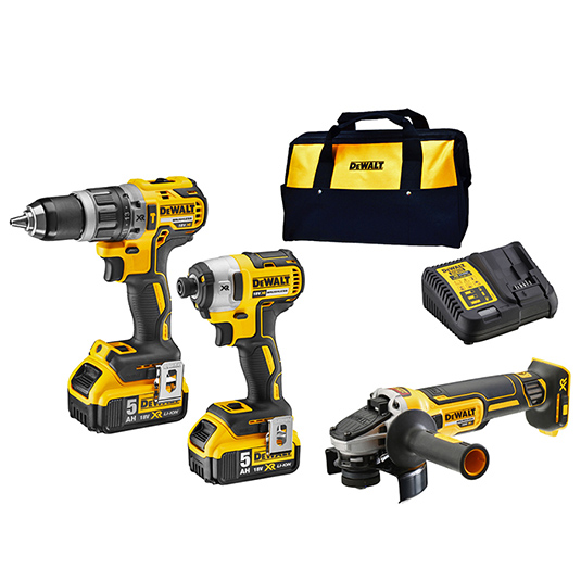 Dewalt 18V XR Li-Ion 3pc Kit