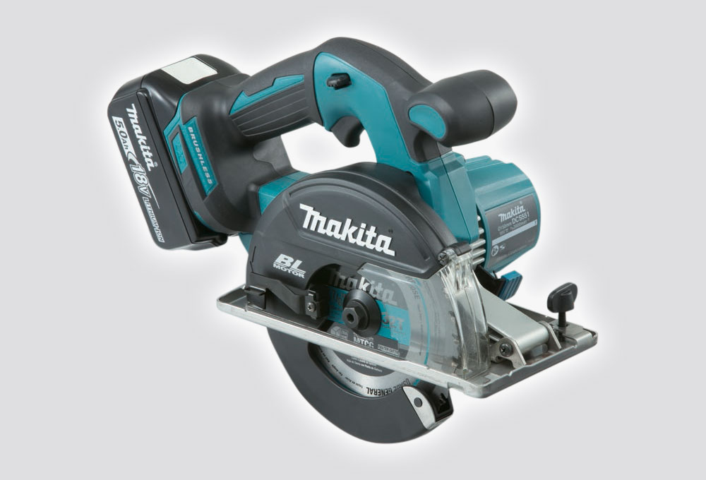 Makita 18V Cordless Brushless Metal Cutter - Skin