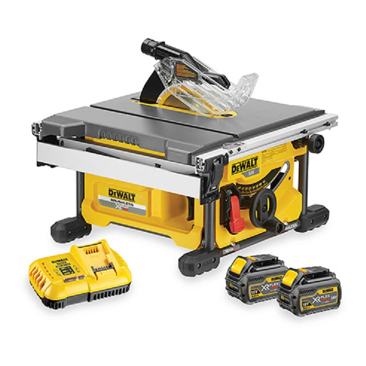 Dewalt 54v XR Table Saw Kitted