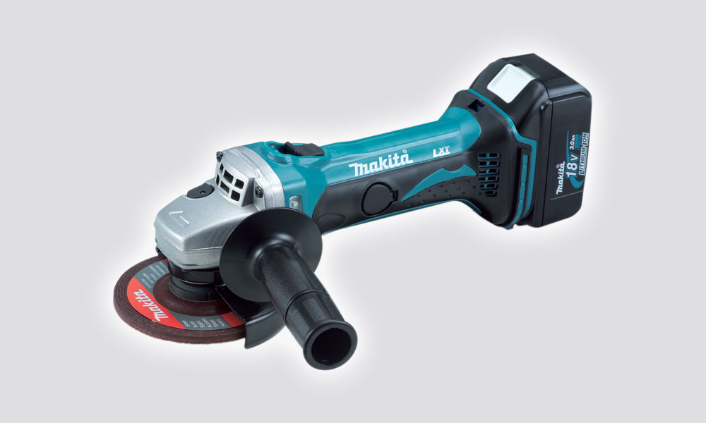 Makita 18V Cordless 115MM Angle Grinder Kit