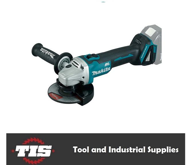 Makita 18V Cordless Brushless 125mm Grinder - Skin