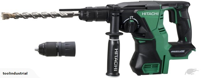 Hitachi 18V Brushless Rotary Hammer with Quick Release Chuck - Bare Tool