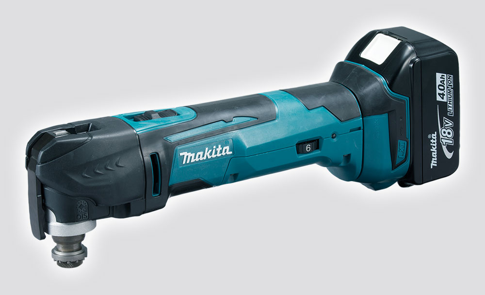 Makita 18V Cordless Toolless Change Multi Tool Kit