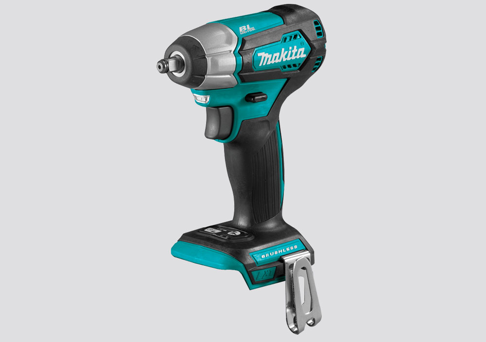"Makita 18V LXT Brushless Cordless 3/8"" (9.5 mm) Impact Wrench - Skin Only"