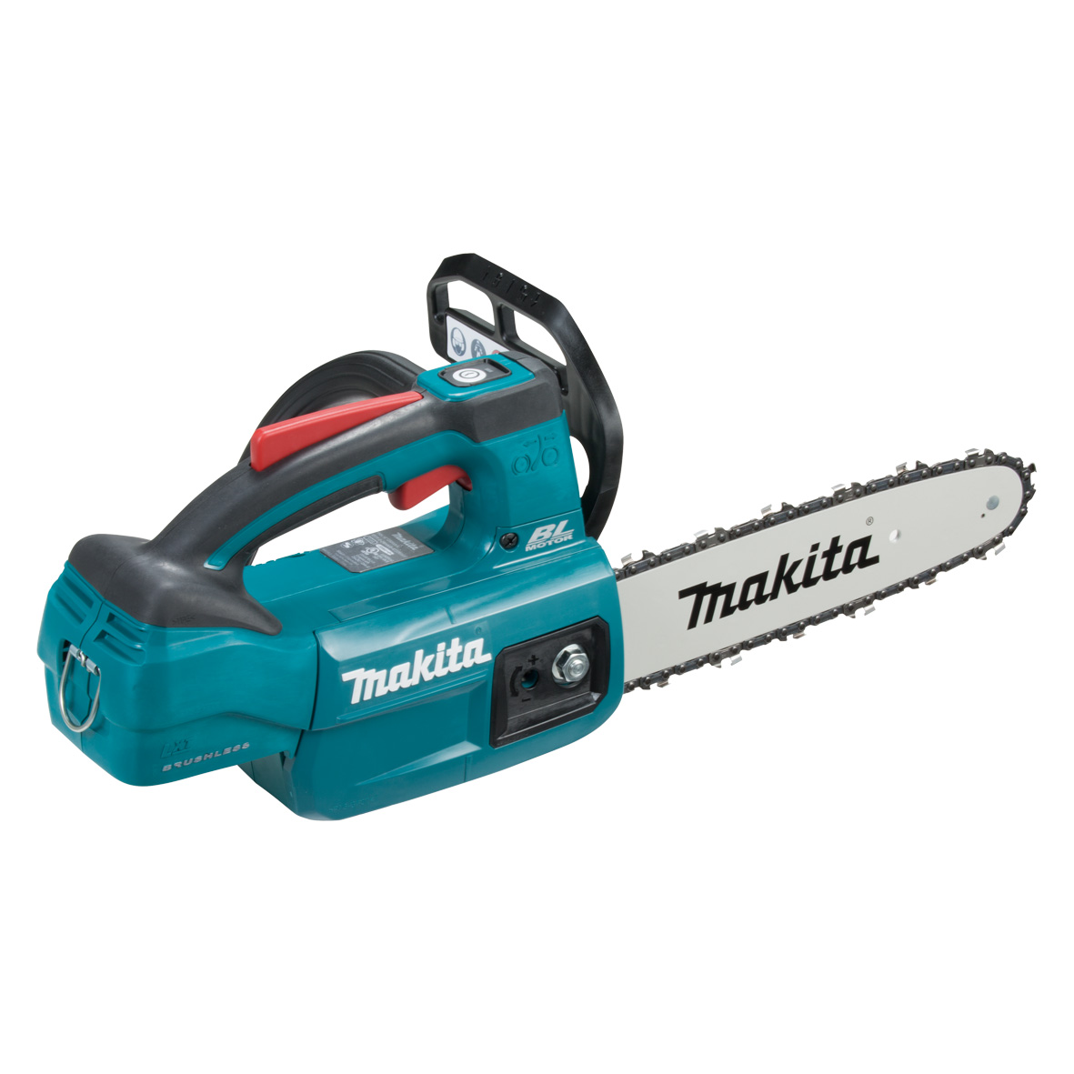"MAKITA 18V LXT BL CHAINSAW Top 10"" - Skin only"