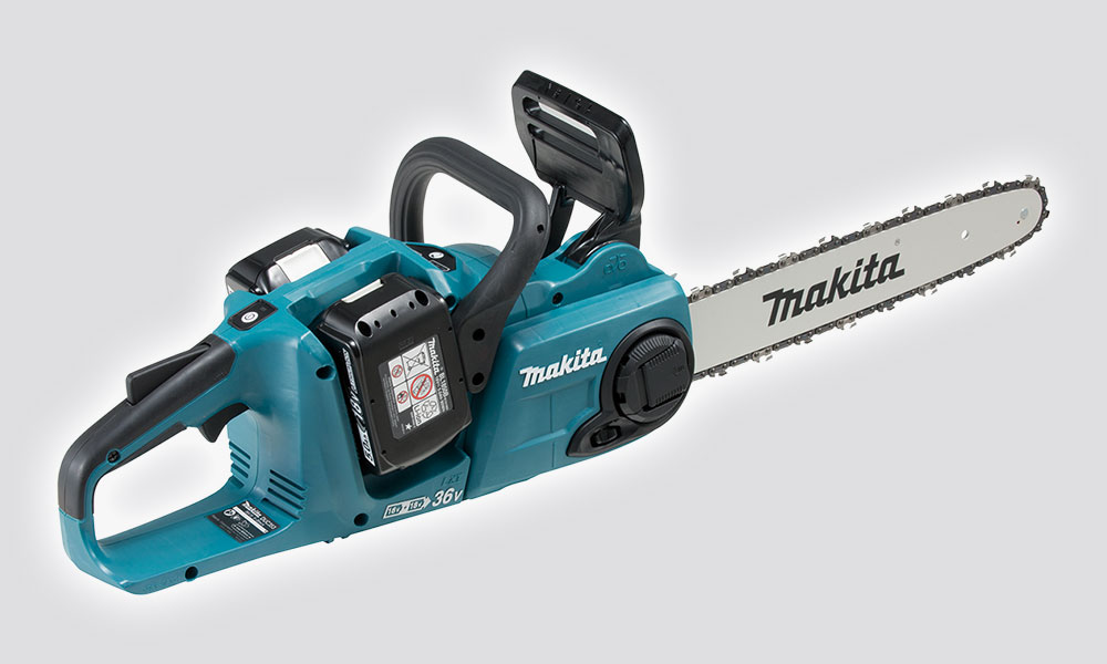 MAKITA 18Vx2 LXT BL CHAINSAW 5ah Kit
