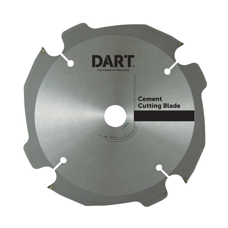 DART PCD Cement Blade 160mm 4T 20mm Bore