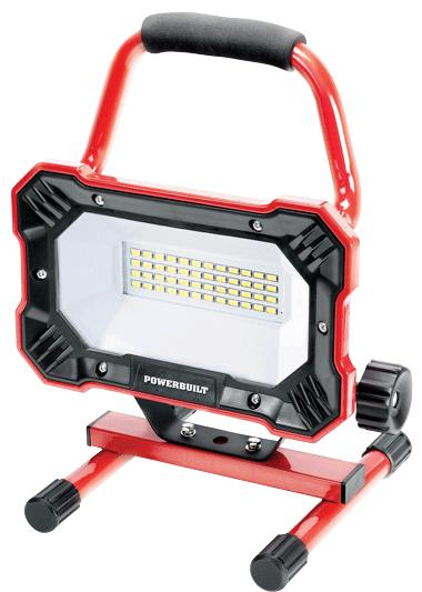 Powerbuilt 24W LED Portable Work Lamp, 2000 Lumens