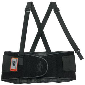 PROFLEX® 100 ECONOMY BACK SUPPORT - L - BLACK