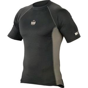 CORE PERFORMANCE WORK WEAR™ 6410 SHORT SLEEVE - L - BLACK