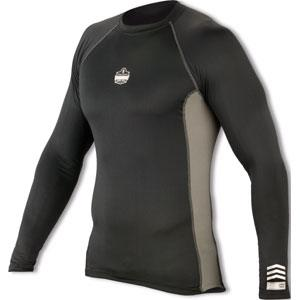 CORE PERFORMANCE WORK WEAR™ 6415 LONG SLEEVE - L - BLACK