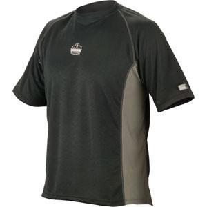 CORE PERFORMANCE WORK WEAR™ 6420 SHORT SLEEVE - L - BLACK