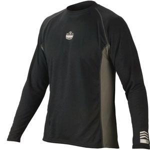 CORE PERFORMANCE WORK WEAR™ 6425 LONG SLEEVE - L - BLACK